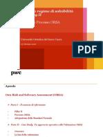 Il Nuovo Regime Di Solvibilità - Solvency II_Pillar II e Processo ORSA