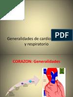 Generalidades de Cardiovascular y Respiratorio 2017