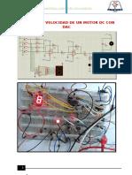 CONTROL DE VELOCIDAD DE UN MOTOR DC CON DAC