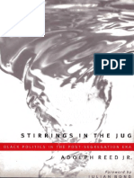 Adolph l Reed Jr Stirrings in the Jug Black Politics in the Postsegregation Era 1