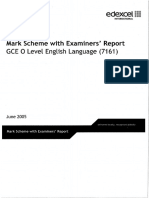 236830 OL English Language 7161 MS Examiner Report June 2005