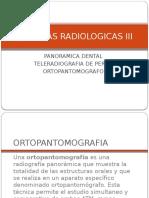 Panoramica Dental y Estudios Cefalometricos
