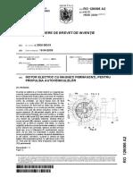 Brevet Inventie Motor Magnetic