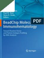 BeadChip Molecular Immunohematology - J. Moulds, Et Al., (Springer, 2011) WW