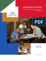 Undergraduate Study Programme Information Brochure 2016.Zp42855