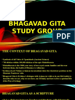 Bhagavad Gita Group Study Program