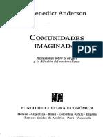 2000 Anderson Benedict Pioneros Criollos