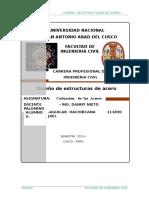 Monografia y Cotizacionde Aceros 2015-i