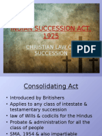 Module II- Indian Succession Act