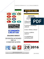 10 Articulo Adriana Alfonzo Gestión e Innovacion en la Industria Discográfica en Venezuela 2010-2015.