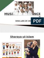 Module II-mus Succ Shia