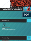 Presentation Poverty Reduction and Social Safety Nets in Bangladesh