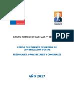 Bases 2017 Tarapacá