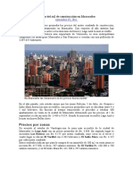 Precio Del m2 de Construcción en Maracaibo