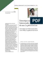 05 Articulo ALEXIS ANTONIO ALVARADO SANCHEZ Estereotipos en los chistes homosexuales. Estudio de caso
