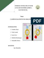 Campos Magnéticos Giratorios G3