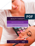 English and Maths for Beauty Therapist