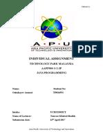 APU Diploma Java Assignment