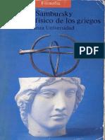 El Mundo Físico Griegos