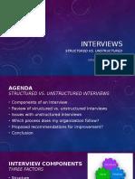 20161023 - interviews - structured vs  unstructured