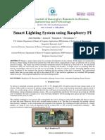 Smart Lighting System Using Raspberry PI