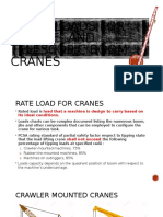 Rated Loads for Lattice- And Telescopic-boom Cranes