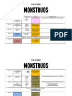 Maqueta Plan de Rodaje cinematográfico
