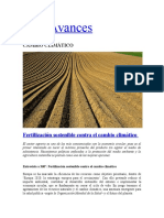 Fertilización Sostenible Contra El Cambio Climático