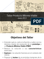 Taller Producto Minimo Viable