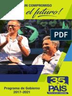 Lista 35 Prog Gob Revista