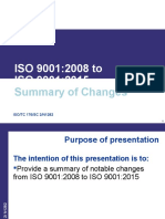 N1282_-_ISO_9001-2015_Summary_of_Changes from 9001-2008