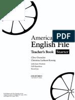 American English File Student Book Starter Pdf