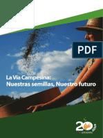 ViaCampesina-Nuestras Semillas, Nuestro Futuro