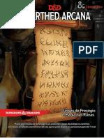 Unearthed Arcana - Classes de Prestígio e Magias Das Runas