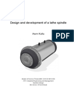 lathe spindle design
