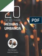 20 Dicas Para Mediuns de Umbanda