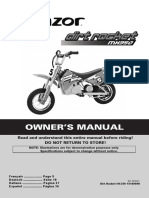 Moto Benja MX350 Manual 08 EFIGS
