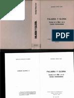 Domingo Munoz Leon - Palabra y Gloria Excursus en La Biblia y en La Literaturta Intertestamentaria