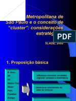 ClustersSP - Apresentação SLADE 2002