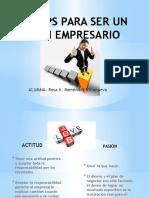 10 Tips Para Ser Un Buen Empresario