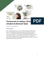 Neves - Turnaround Na Cabeça, Filosofia e o Mindset de Bernard Tapie