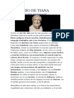 Apolonio de Tiana, Historia y Teosofía