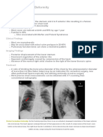 Learning Radiology - Pectus Excavatum