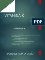 VITAMINA K...Bioquimica