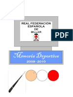 Memoria Deportiva-2009-2010