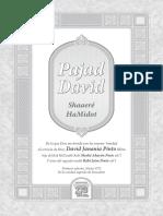 Shaarei Hamidot Pahad David ESP