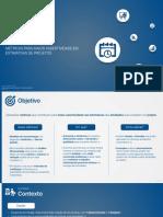 Métricas para aumentar a assertividade de estimativas em projetos