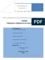Ensayo Riesgo Crediticio