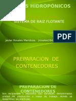 SEGUNDA PARTE Contenedoes Cultivos Hidropónicos