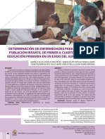 parasitosis en mexico